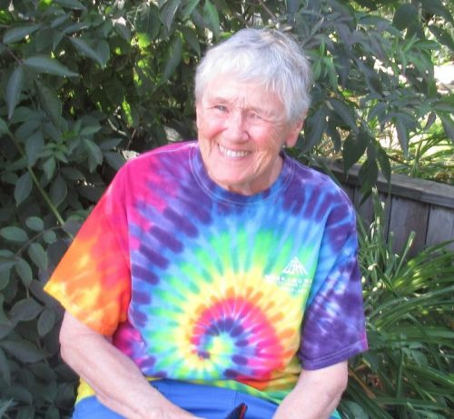 Grand Canyon Youth donor Sue Durling sitting